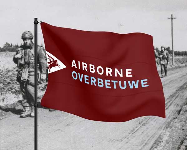 Airborne vlag Overbetuwe